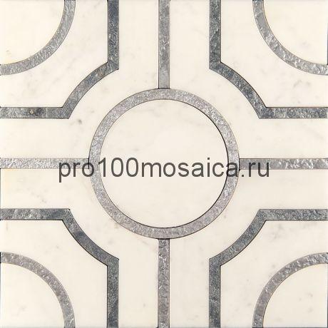 AСM (w)-2/2 Плитка 305*305 серия ALСAMO (white), размер, мм: 305*305*10 (Skalini)