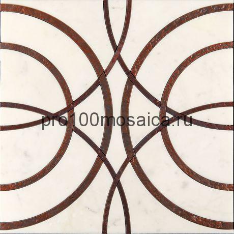 AСM (w)-3/5 Плитка 305*305 серия ALСAMO (white), размер, мм: 305*305*10 (Skalini)