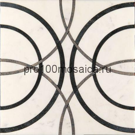 AСM (w)-3/6 Плитка 305*305 серия ALСAMO (white), размер, мм: 305*305*10 (Skalini)