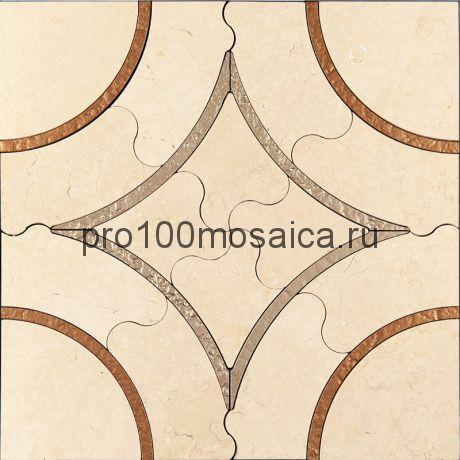 AСM (y)-1/1 Плитка 305*305 серия ALСAMO (yellow), размер, мм: 305*305*10 (Skalini)