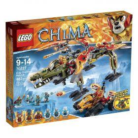 Lego Legends of Chima 70227 Спасение короля Кроминуса