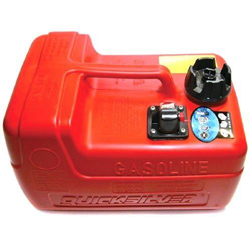 Бак топливный 12 л (резьбовой штуцер) Quicksilver