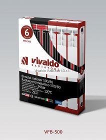 Биметаллический радиатор Vivaldo VFB-SH-500 x8 секций
