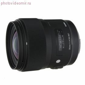 Арендовать Объектив Sigma AF 35mm F/1.4 DG HSM Art CANON