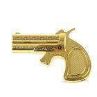Зажигалка Золотой пистолет