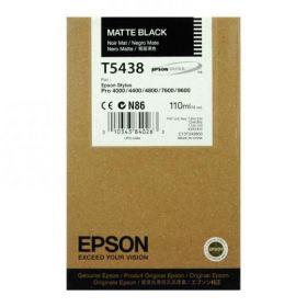 Картридж оригинальный EPSON T5438 черный матовый для Stylus Pro 7600/9600 C13T543800