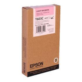 Картридж оригинальный EPSON T603C светло-пурпурный для Stylus Pro 7800/9800 C13T603C00