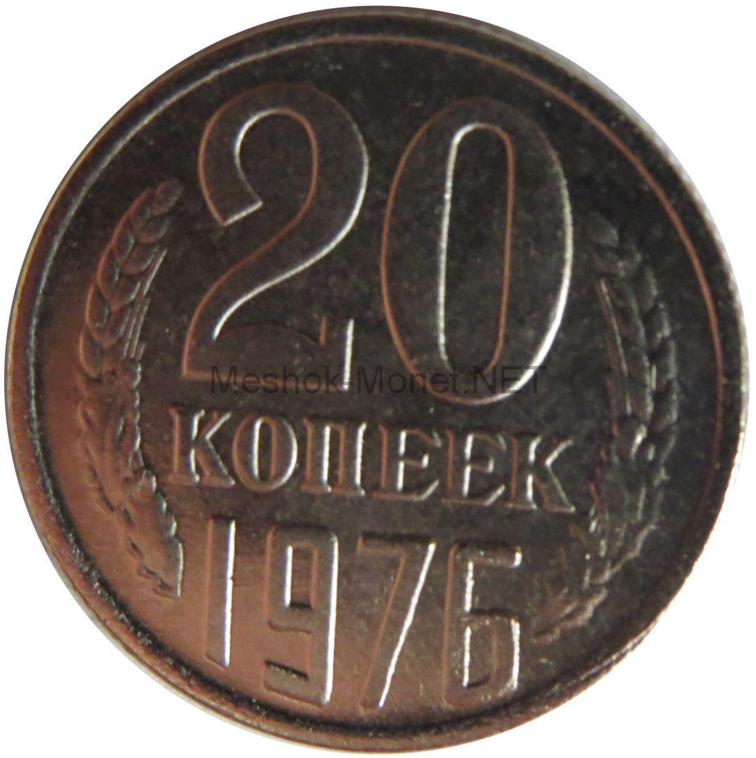Копия монеты 20 копеек 1976 года