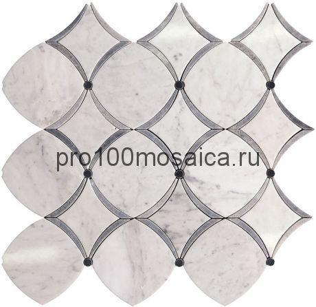 TRL-7 Мозаика части разных размеров серия TRELLIS, размер, мм: 300*300*10 (Skalini)