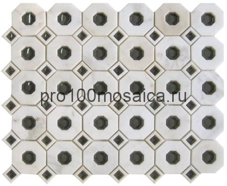 MLG-1 Мозаика Irregular x8 серия MALAGA, размер, мм: 300*300*8 (Skalini)