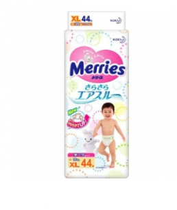 Подгузники Merries Big (12-22 кг), 44 шт/уп