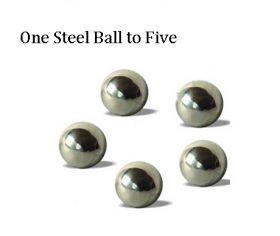 One Steel Ball to Five Один стальной шар в пять