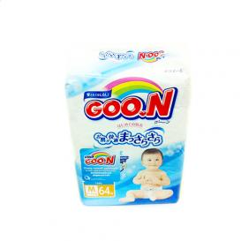 Подгузники Goon M (6-11 кг), 64 шт/уп