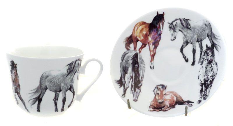 """Чайная пара """"Моя лошадь"""", 500 мл"""