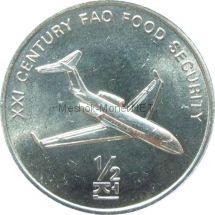 Северная Корея 1/2 чон 2002 г. Самолет