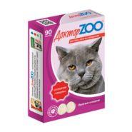 Доктор ZOO Говядина Мультивитаминное лакомство для кошек (90 табл.)