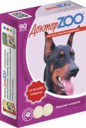 Доктор ZOO Говядина Витаминное лакомство для собак (90 табл.)