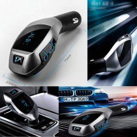 Автомобильный FM Bluetooth модулятор с функцией Hands free
