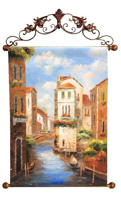 "Картина ""Венецианский канал"", 60x90 см"