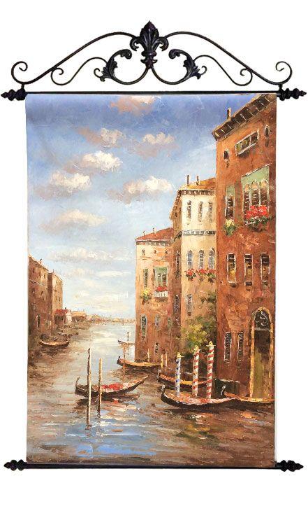 "Картина ""Венецианский пейзаж"", 60x90 см"