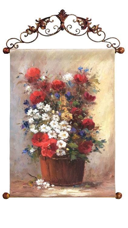 """Картина """"Полевые цветы"""", 60x90 см"""