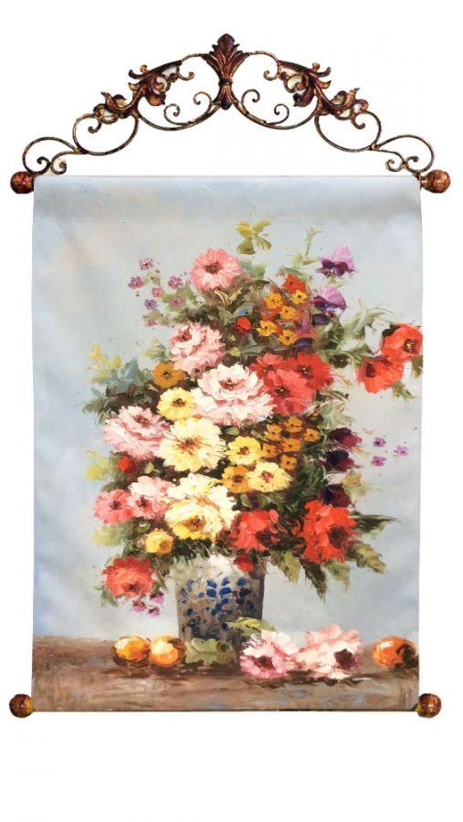 """Картина """"Цветочная Экспрессия"""", 60x90 см"""