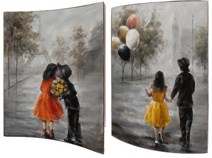 "Картина ""Первое свидание"" (пара), 41x51 см"