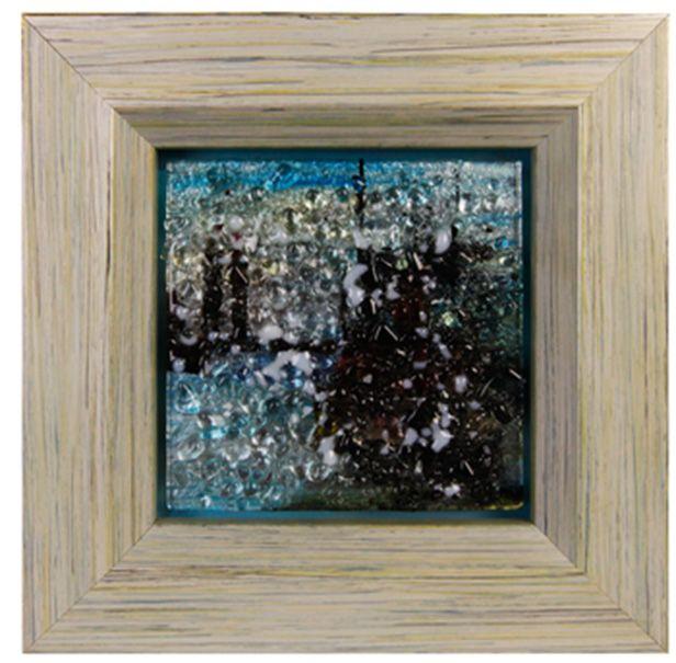 """Картина стеклянная """"Мегаполис"""", 32х32 см"""