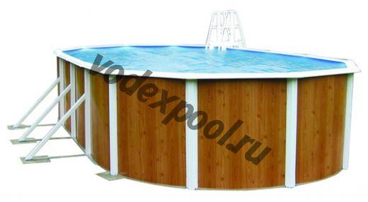Сборный бассейн Atlantic Pools Esprit-Big (7.3 × 3.7 × 1.32 м)