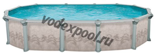 Сборный бассейн Atlantic Pools J-4000 Gibraltar (7.3 × 3.7 × 1.32 м)