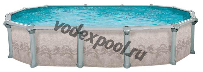 Сборный бассейн Atlantic Pools J-4000 Gibraltar (10.0 × 5.5 × 1.32 м)