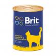 Brit Premium Мясное ассорти с потрошками (340 г)