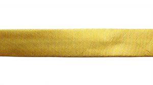 Косая бейка, ширина 15 мм, цвет: золото, 25 м