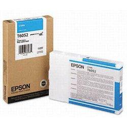 Картридж EPSON оригинальный T6052 голубой для Stylus Pro 4880  C13T605200