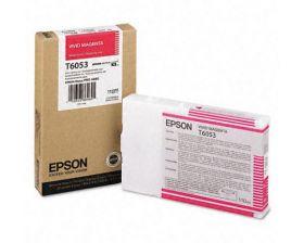Картридж оригинальный EPSON T6053 пурпурный насыщенный для Stylus Pro 4880 C13T605300