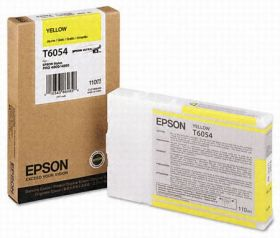 Картридж оригинальный EPSON T6054 желтый для Stylus Pro 4880 C13T605400