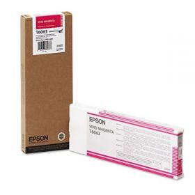 Картридж оригинальный EPSON T6063 пурпурный насыщенный повышенной емкости для Stylus Pro 4880  C13T606300