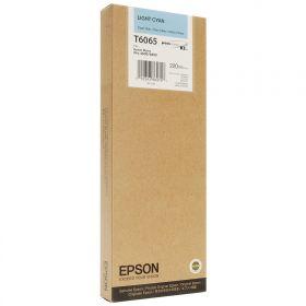 Картридж оригинальный EPSON T6065 светло-голубой повышенной емкости для Stylus Pro 4880 C13T606500