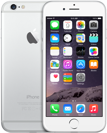 Apple iPhone 6 Plus 16GB LTE Silver