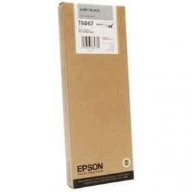 Картридж оригинальный EPSON T6067 серый повышенной емкости для Stylus Pro 4880 C13T606700