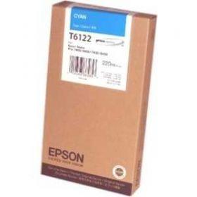 Картридж оригинальный EPSON T6122 голубой для Stylus Pro 7450/9450 C13T612200