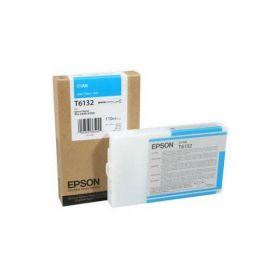 Картридж оригинальный EPSON T6132 голубой для Stylus Pro 4450 C13T613200