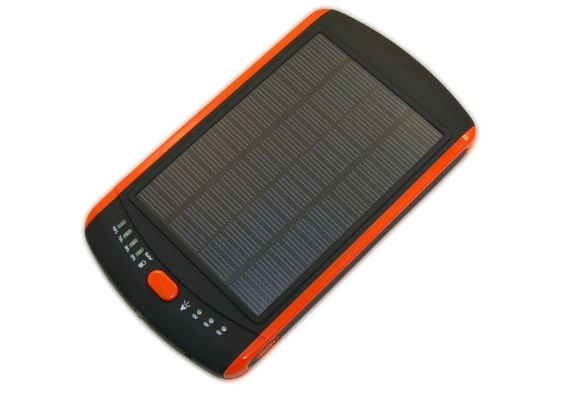 Внешний аккумулятор на солнечной батарее для портативной техники (5V-19V, 3A, 23000mAh)