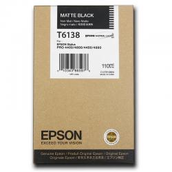 Картридж оригинальный EPSON T6138 черный матовый для Stylus Pro 4450 C13T613800