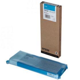 Картридж оригинальный EPSON T6142 голубой повышенной емкости для Stylus Pro 4450 C13T614200