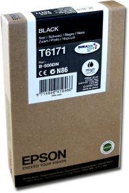 Картридж оригинальный EPSON T6171 черный повышенной емкости для B500 C13T617100