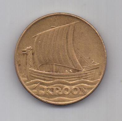 1 крона 1934 г. Эстония