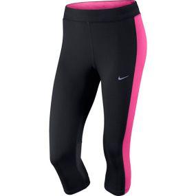 Женские леггинсы 3/4 Nike Dri-Fit Essential Capri чёрные