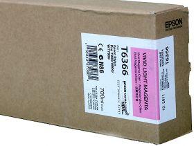 Картридж оригинальный EPSON T6366 светло-пурпурный повышенной емкости для Stylus Pro 7900/9900 C13T636600