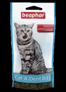 Beaphar Cat-a-Dent Bits Подушечки для чистки зубов кошек (35 г)